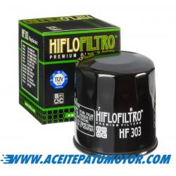 FILTRO DE ACEITE HIFLOFILTRO  HF303