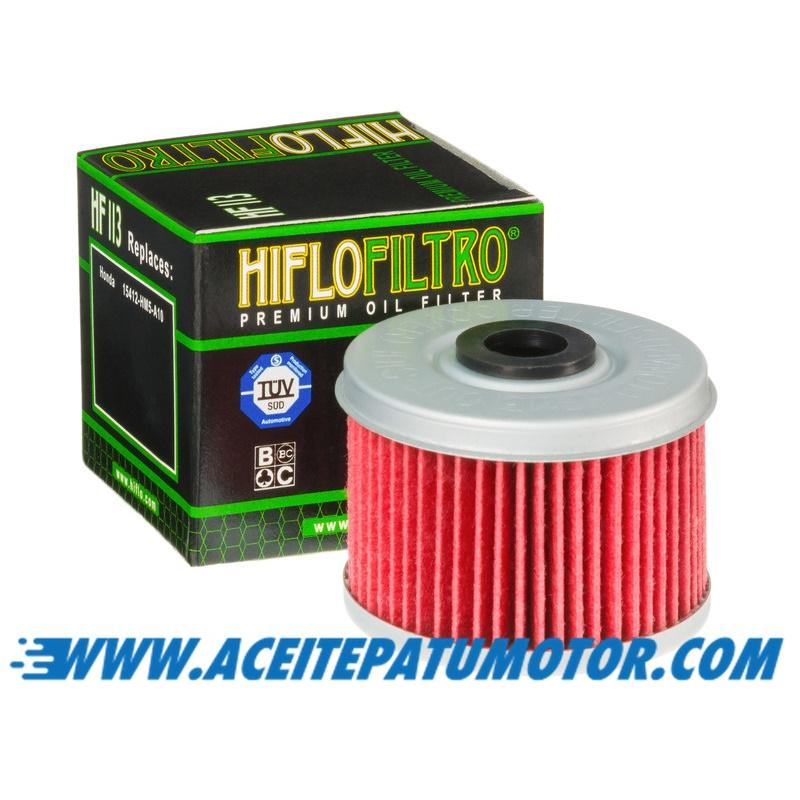 FILTRO DE ACEITE HIFLOFILTRO HF113