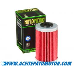 FILTRO DE ACEITE HIFLOFILTRO  HF155