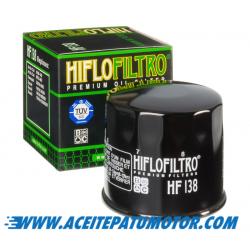 FILTRO DE ACEITE HIFLOFILTRO HF138