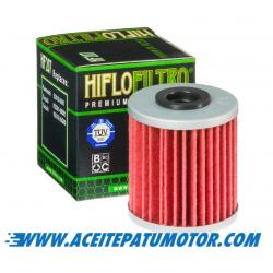 FILTRO DE ACEITE HIFLOFILTRO  HF207