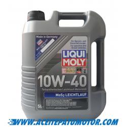 ACEITE LIQUI MOLY  MoS2-LEICHTLAUF 10W40 5 LITROS