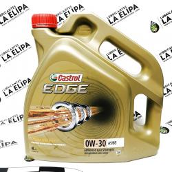 ACEITE CASTROL EDGE 0W30 A5/B5 4 LITROS