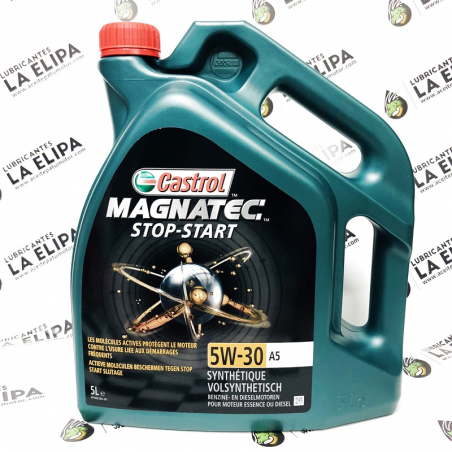 ACEITE CASTROL MAGNATEC STOP STAR 5W30 A5 5 LITROS