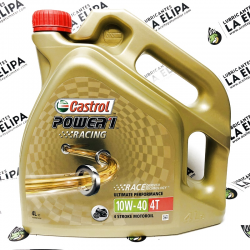 ACEITE CASTROL POWER RACING 4T 10W40 4 LITROS