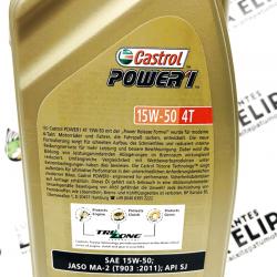 ACEITE CASTROL POWER 1 4 T. 15W50 1 LITRO