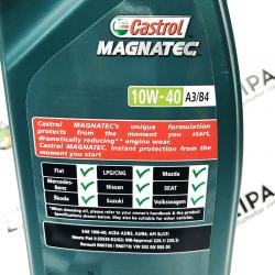 ACEITE CASTROL MAGNATEC 10W40 A3/B4 1 LITRO