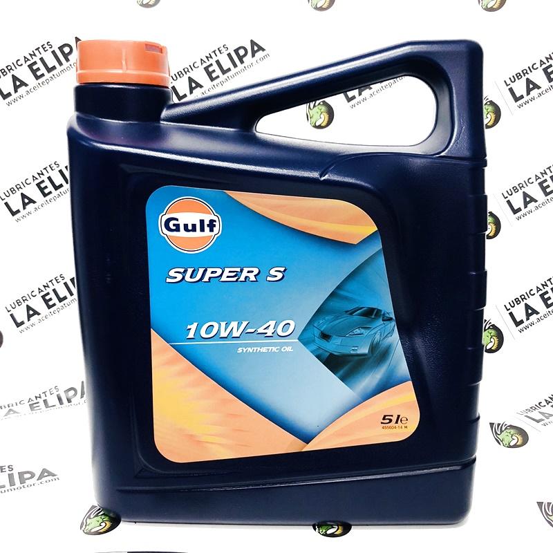 ACEITE GULF SUPER S 10W40 5 LITROS