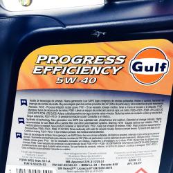 ACEITE GULF PROGRESS EFFICIENCY 5W40 5 LITROS
