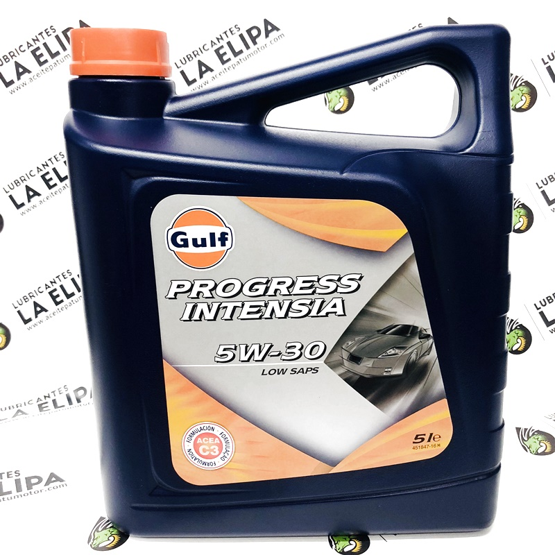 ACEITE GULF PROGRESS INTENSIA 5W30 5 LITROS