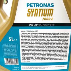 ACEITE PETRONAS SYNTIUM 7000 E 0W30 5 LITROS