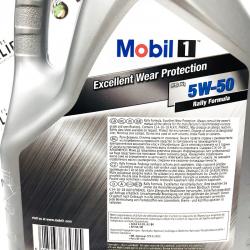 ACEITE MOBIL 1 RALLY FORMULA FS-X1 ( PEACK LIFE ) 5W50 5 LITROS