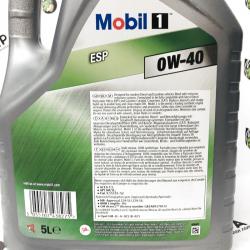 ACEITE MOBIL 1 ESP 0W40 5 LITROS