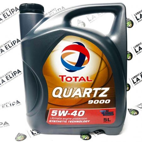 ACEITE TOTAL QUARTZ 9000 5W40 5 LITROS