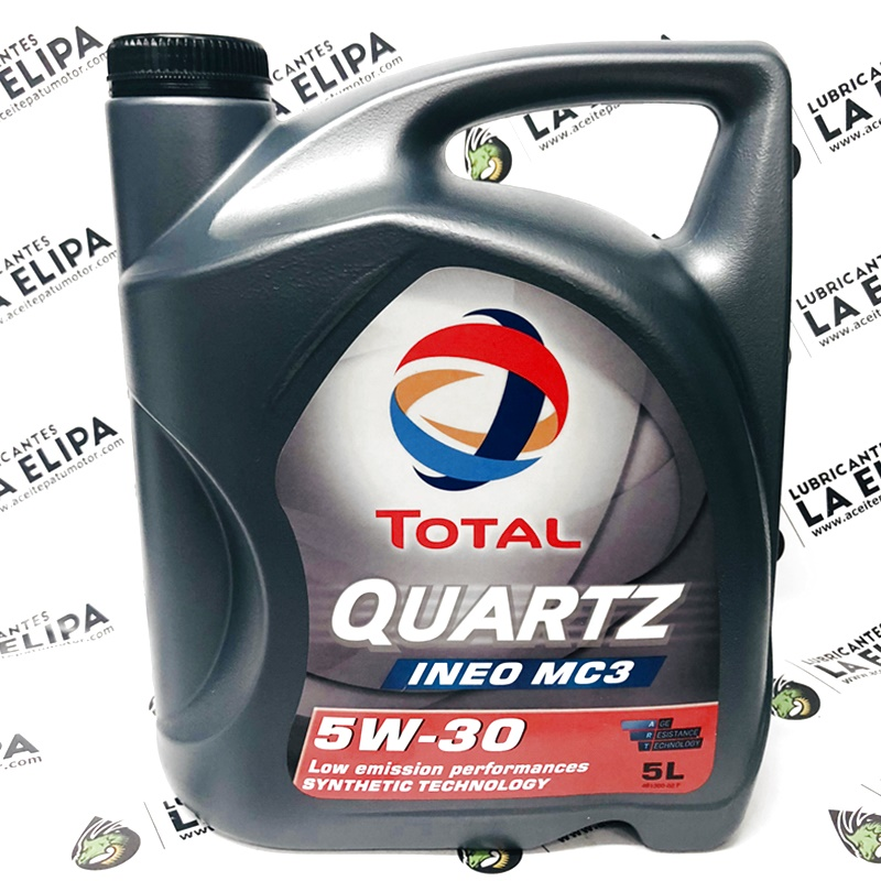 ACEITE TOTAL QUARTZ INEO MC3 5W30 5 LITROS