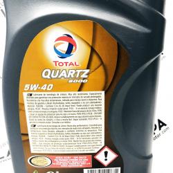 ACEITE TOTAL QUARTZ 9000 5W40 1 LITRO