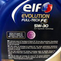 ACEITE ELF EVOLUTION FULL TECH FE 5W30 5 LITROS