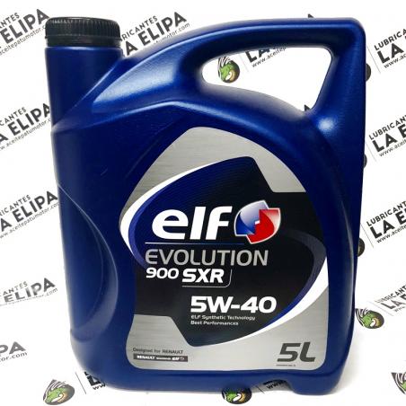 ACEITE ELF EVOLUTION 900 SXR 5W40 5 LITROS