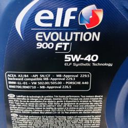 ACEITE ELF EVOLUTION 900 FT 5W40 1 LITRO