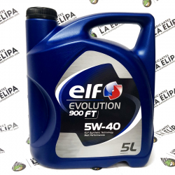 ACEITE ELF EVOLUTION 900 FT 5W40 5 LITROS