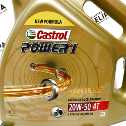 ACEITE CASTROL POWER 1 20W50 4 LITROS
