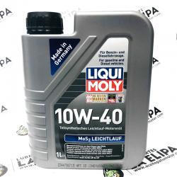 ACEITE LIQUI MOLY  MoS2-LEICHTLAUF 10W40 1 LITRO