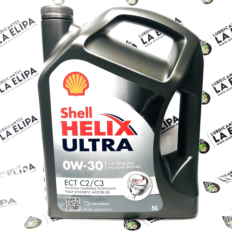 ACEITE SHELL HELIX ULTRA ECT C2/C3 0W30 5 LITROS