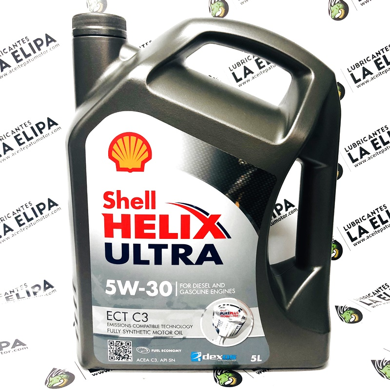 ACEITE SHELL HELIX ULTRA 5W30 ECT C3 5 LITROS