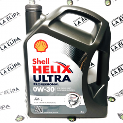 ACEITE SHELL HELIX ULTRA PROFESSIONAL AV-L 0W30 5 LITROS