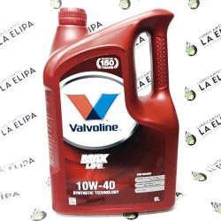 ACEITE VALVOLINE MAXLIFE 10W40 5 LITROS