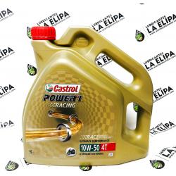 ACEITE MOTO CASTROL POWER 1 RACING 4 TIEMPOS 10W50 4 LITROS
