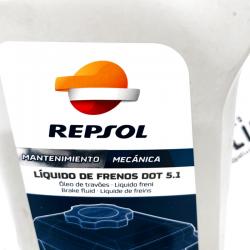 REPSOL LIQUIDO DE FRENOS DOT 5.1 500 ML.