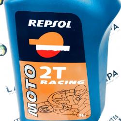 ACEITE MOTO REPSOL RACING MOTO 2 TIEMPOS 1 LITRO