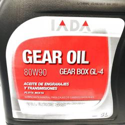 IADA GEARBOX 80W90 GL4 5 LITROS