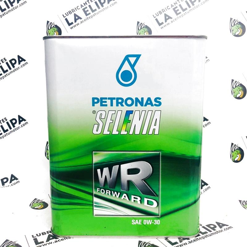 ACEITE PETRONAS SELENIA WR FORWARD SAE 0W30 2 LITROS