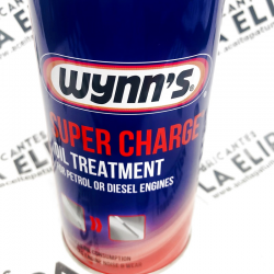 WYNNS ADITIVO  SUPER CHARGE OIL TREATMENT 300ML.