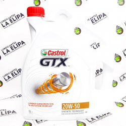 ACEITE CASTROL GTX 20W50 5 LITROS