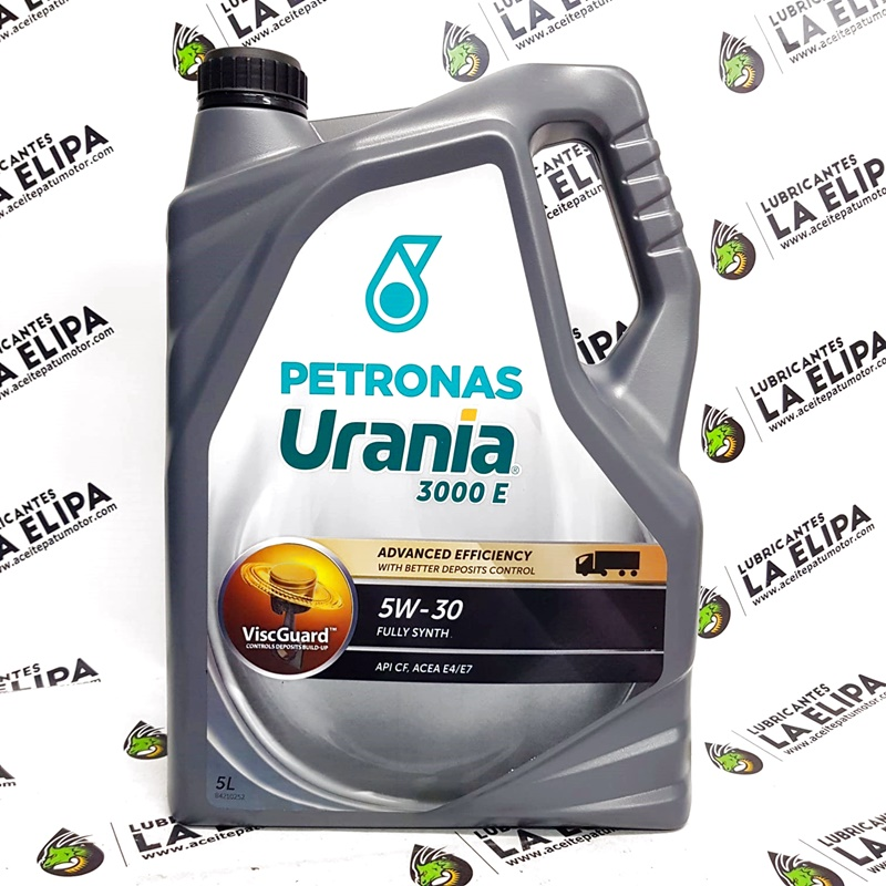 ACEITE PETRONAS URANIA 3000 E 5W30 5 LITROS