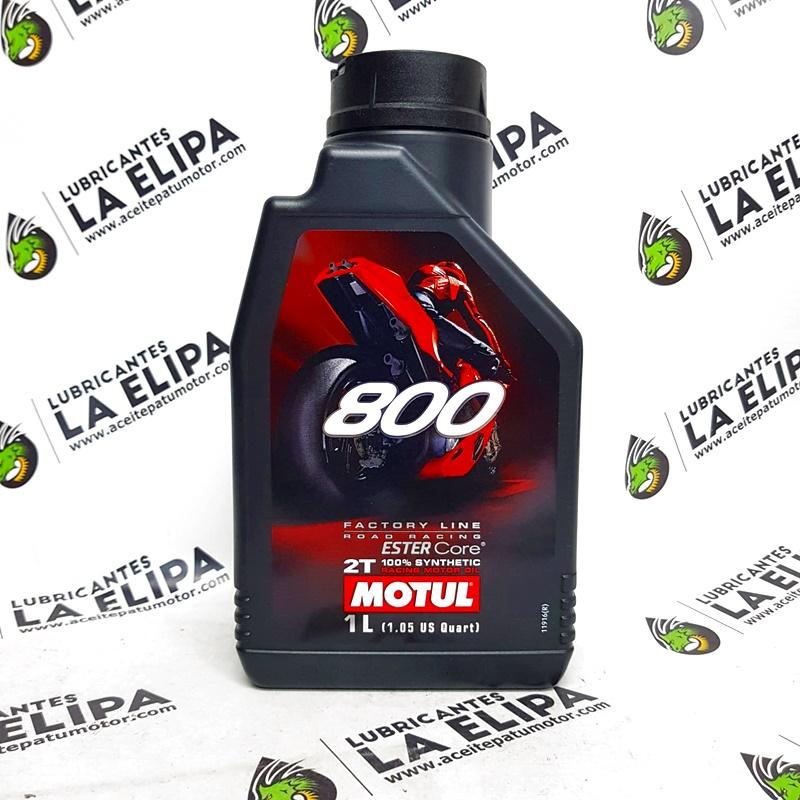 ACEITE MOTUL 800 2T ROAD RACING 1LITRO