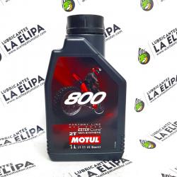 ACEITE MOTUL 800 2T FACTORY LINE OFF ROAD 1 LITRO