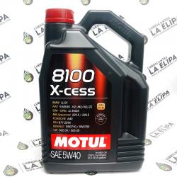 ACEITE MOTUL 8100 X- CESS 5W40 5 LITROS