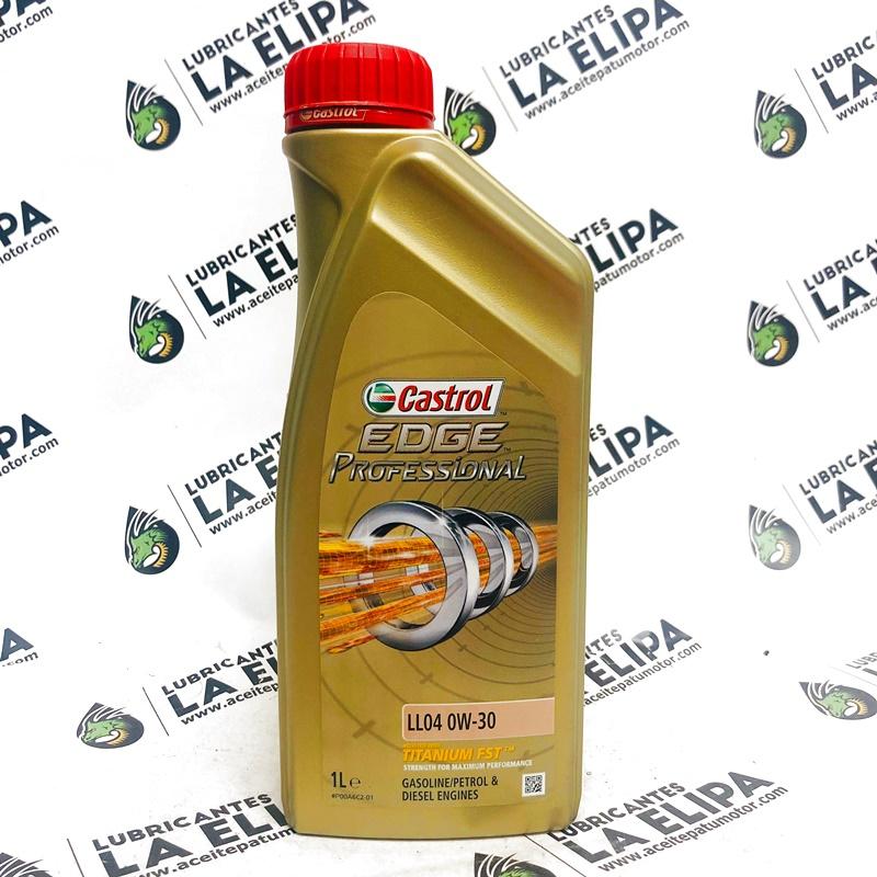 ACEITE CASTROL EDGE PROFESSIONAL LL04 0W30 1 LITRO
