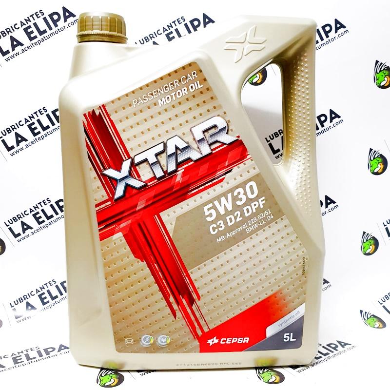ACEITE CEPSA XTAR 5W30 C3 DPF 5 LITROS