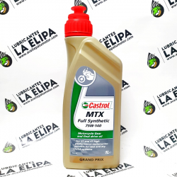 ACEITE CASTROL MTX FULL SYNTHETIC 75W140 1 LITRO