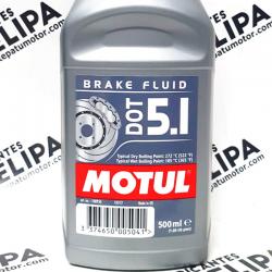 ACEITE MOTUL  BRAKE FLUID LÍQUIDO DE FRENOS  DOT 5.1 500ML.