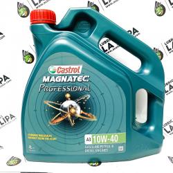 ACEITE CASTROL MAGNATEC PROFESSIONAL A3 10W40 4 LITROS