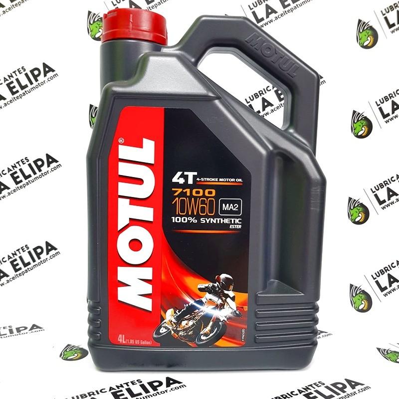 ACEITE MOTO MOTUL 7100 4T. 10W60 4 LITROS