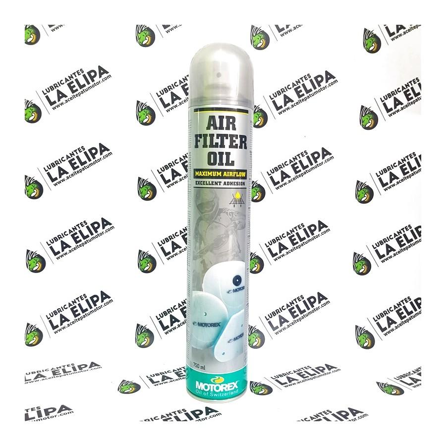MOTOREX SPRAY AIR FILTER OIL 750ML.