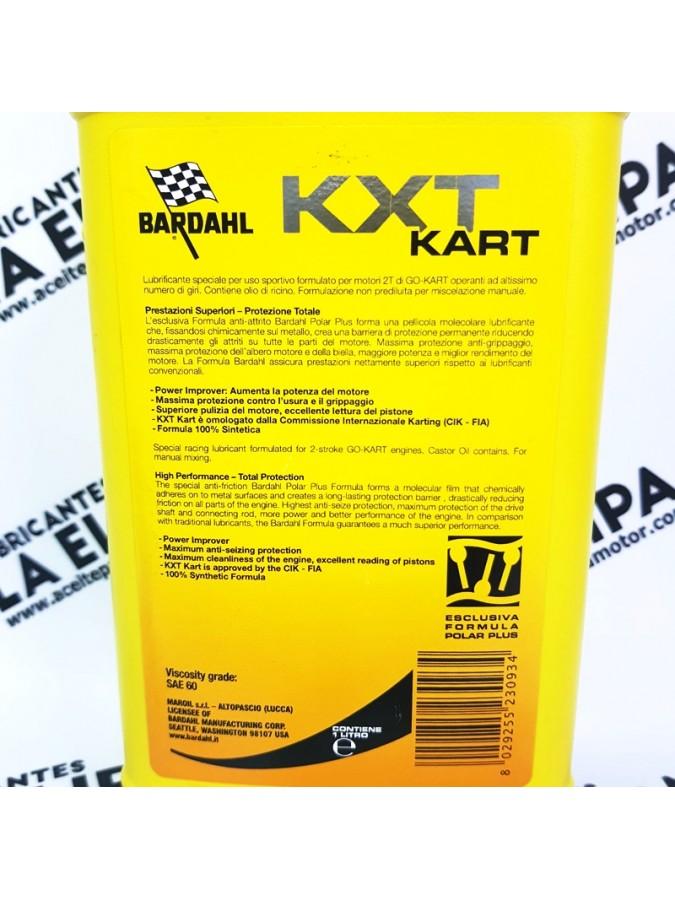 ACEITE BARDHAL KXT KART 1 LITRO