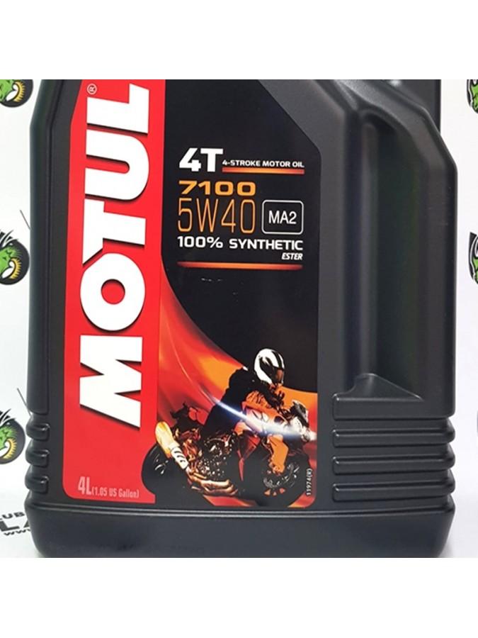 ACEITE DE MOTO MOTUL 7100 4T. 5W40 4 LITROS